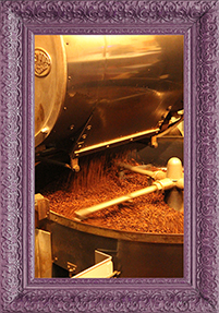 Coffee Beans being cooled